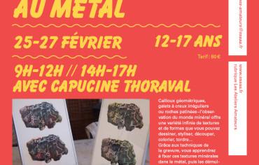 De la roche au métal* : 12-17 ans