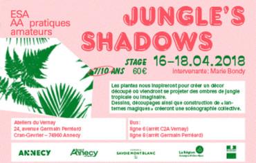 Jungle's shadows: 7 à 10 ans
