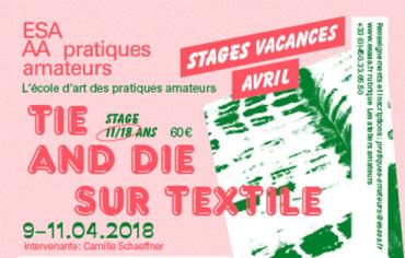 Tie and die sur textile: 11 à 18 ans