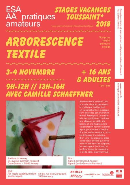 Arborescence textile