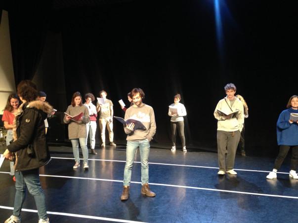 Classe préparatoire art, design + théâtre : auditions