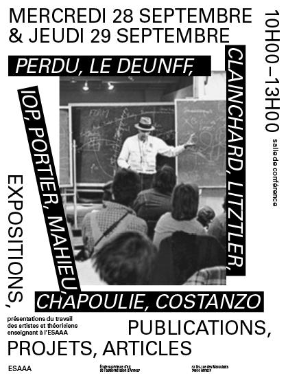 Perdu, IOP, Le Deunff, Clainchard, Litztler, Portier, Mathieu, Chapoulie, Costanzo