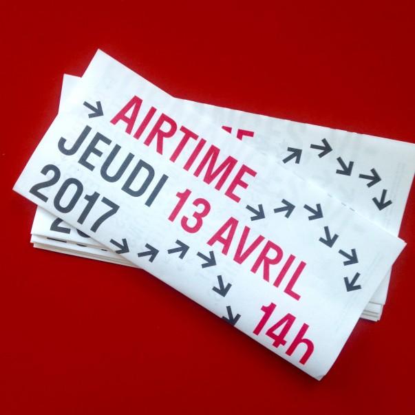 AIRTIME Installations/Performances/Vidéos