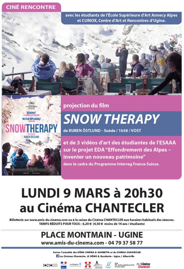 Projet EdA : Ciné-rencontre et créations filmiques de trois étudiantes de l'ESAAA au cinéma Chantecler d'Ugine