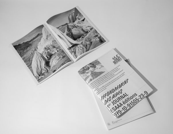 Effondrement des Alpes – édition : lancement du Premier journal