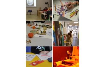 ESAAA p.a. : visite de fin d'année des ateliers confinés