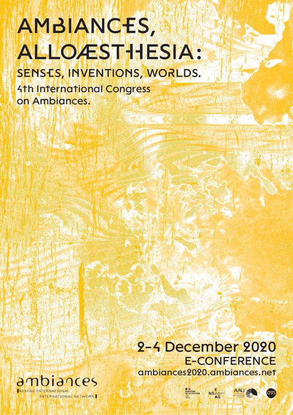 L'ESAAA participe au Congrès international des ambiances 2020