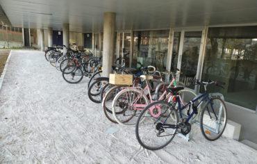 Un nouveau parking à vélos voit le jour sur le site des Marquisats