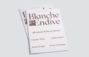 Blanche Endive – Elle invente les bas de chicorée