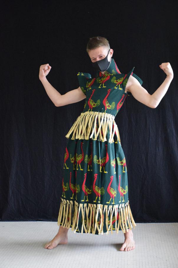 La route des migrants à l'envers / Workshop textile des étudiant·es en 3e année Design avec Mamadou Fall